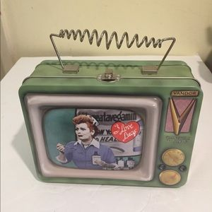 Vintage I love Lucy Tin Lunch Box